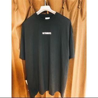 バレンシアガ(Balenciaga)の最安値!確実正規品【vetements Tシャツ Lサイズ】(Tシャツ/カットソー(半袖/袖なし))