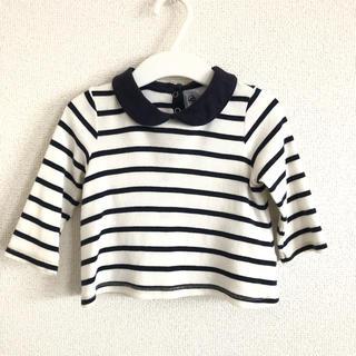プチバトー 長袖トップス 12m(Tシャツ)
