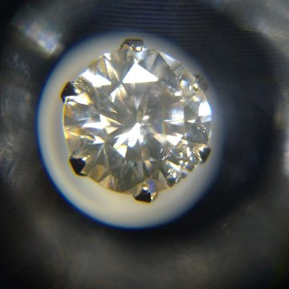 アヴァランチ(AVALANCHE)のK18 イエローゴールド ダイヤモンドピアス 新品 片耳 Mカラー 送料無料(ピアス(片耳用))