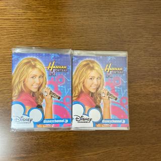 ディズニー(Disney)のハンナモンタナ・メモパッド2個(アイドルグッズ)