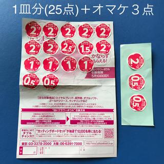 ヤマザキセイパン(山崎製パン)のヤマザキ春のパン祭り2020 応募券1皿分(25点)&オマケ3点(食器)