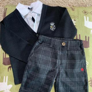 シマムラ(しまむら)のフォーマルハーフパンツとトップスセット(ドレス/フォーマル)