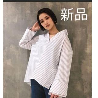 ムルーア(MURUA)の新品未使用 MURUA シャツ 定価 6500円(シャツ/ブラウス(長袖/七分))