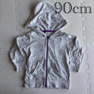 ユニクロ(UNIQLO)のパーカー 90cm(Tシャツ/カットソー)