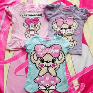 アースマジック(EARTHMAGIC)のEARTHMAGIC Tシャツ セット(Tシャツ/カットソー)