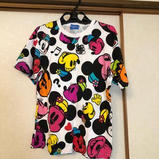 ディズニー(Disney)のディズニー ミニーシャツ M(カットソー(半袖/袖なし))
