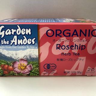 「ガーデンオブアンデス」オーガニックハーブティ(ローズヒップ)20パック(茶)