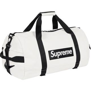 シュプリーム(Supreme)のSUPREME NIKE Leather Duffle Bag White(ボストンバッグ)