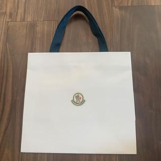 モンクレール(MONCLER)のモンクレール ショップ袋 バック(ショップ袋)