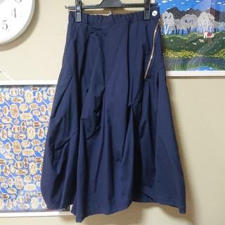 メルシーボークー(mercibeaucoup)のメルシーボークーmercibeaucoup ストレッチツイルスカート 01(ひざ丈スカート)