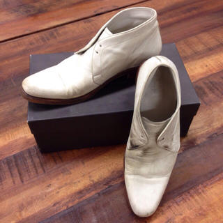 エヌディーシー(n.d.c. nom de code)のホワイト レザー 革靴 シューズ(ドレス/ビジネス)