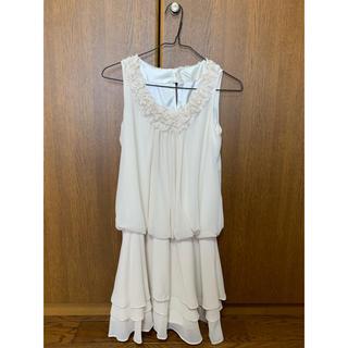 ロートレアモン(LAUTREAMONT)のロートレアモン ホワイト ドレス 結婚式(ミディアムドレス)