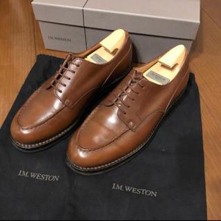 ジェーエムウエストン(J.M. WESTON)の【値下げ応相談】J.M Weston ゴルフ ロシアンカーフ タン 5D(ドレス/ビジネス)