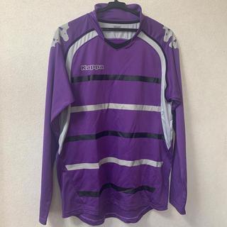 カッパ(Kappa)のKappa 紫長袖プラクティックシャツ(ウェア)