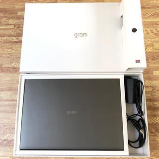 エルジーエレクトロニクス(LG Electronics)のLG gram エルジーグラム 17インチ(ノートPC)
