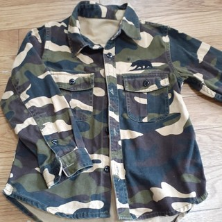 ロデオクラウンズ(RODEO CROWNS)のRODEO CROWNSミリタリーシャツ(ジャケット/上着)