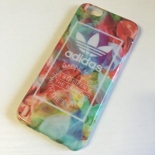 アディダス(adidas)の送料無料 adidas 6/6s 新品(モバイルケース/カバー)