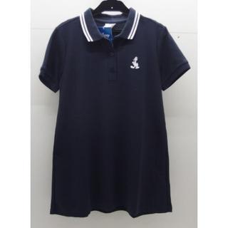 ディズニー(Disney)の*1118・Disney ディズニー ポロシャツ ネイビー Sサイズ 未使用品(ポロシャツ)