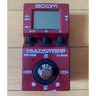 ズーム(Zoom)のZoom MULTISTOMP MS-60B(ベースエフェクター)
