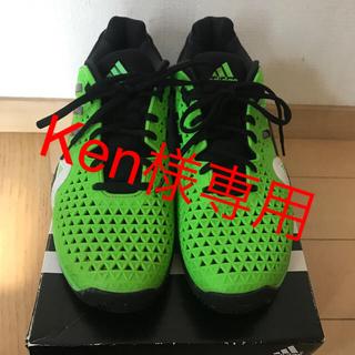 アディダス(adidas)のken様専用 アディダス テニスシューズ 錦織圭モデル 26.5cm(シューズ)