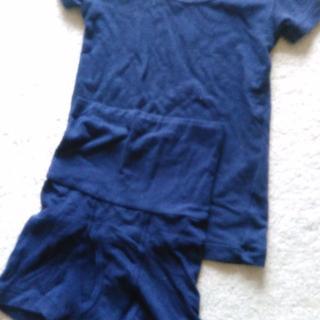 ベルメゾン(ベルメゾン)のホットコット 半袖肌着上下セット 100(下着)