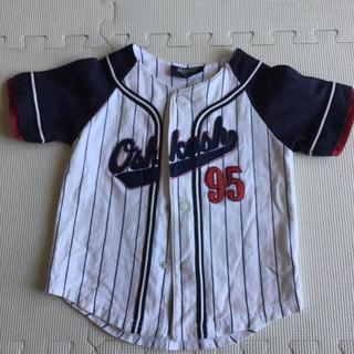 オシュコシュ(OshKosh)の野球 半袖シャツ 90cm(Tシャツ/カットソー)