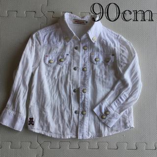 ミキハウス(mikihouse)のミキハウス シャツ 90cm(Tシャツ/カットソー)