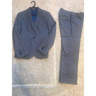 オリヒカ(ORIHICA)の美品 オリヒカ ブルーグレー レディース スーツ 春夏用(スーツ)