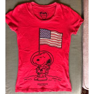 ハーフマン(HALFMAN)のHALFMAN スヌーピー Tシャツ(Tシャツ(半袖/袖なし))