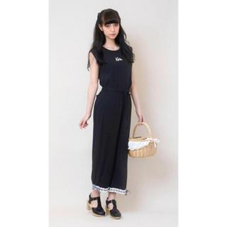 ケイティー(Katie)のKatie SUNDAY MONDAYS pants 黒(カジュアルパンツ)