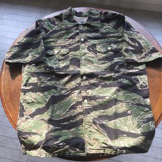 ポストオーバーオールズ(POST OVERALLS)のpost overalls ミリタリーシャツ BDU タイガーカモフラ (シャツ)