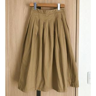 マウジー(moussy)のMOUSSY チノプリーツスカート(ロングスカート)