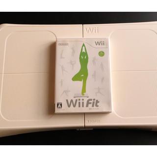 ニンテンドウ(任天堂)のWii Fit (家庭用ゲームソフト)