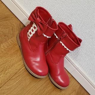 シャーリーテンプル(Shirley Temple)のシャーリーテンプル ブーツ 17cm(ブーツ)