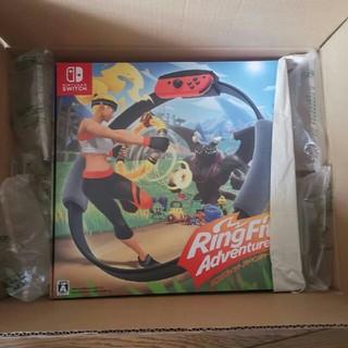 ニンテンドースイッチ(Nintendo Switch)の任天堂スイッチ Switch リングフィットアドベンチャー(家庭用ゲームソフト)