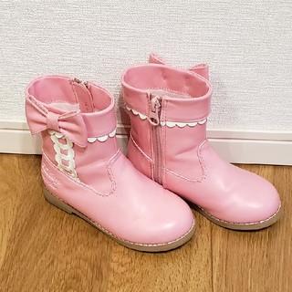 シャーリーテンプル(Shirley Temple)のシャーリーテンプル 16cm ブーツ(ブーツ)