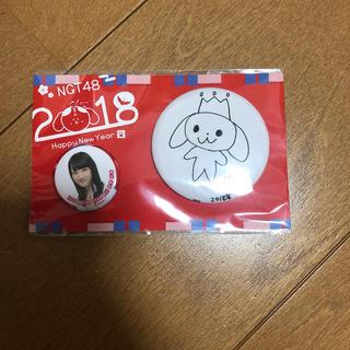 エヌジーティーフォーティーエイト(NGT48)のNGT48太野彩香 福袋 缶バッチ(アイドルグッズ)