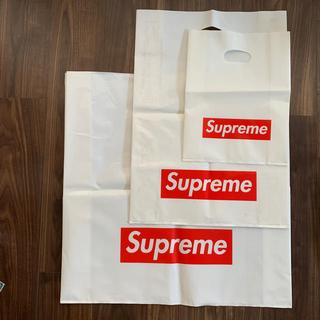 シュプリーム(Supreme)のシュプリーム  ショップ袋 ショッパー 3点セット(ショップ袋)