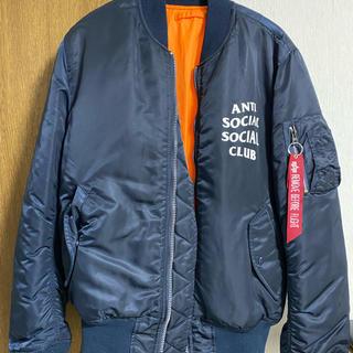 アンチ(ANTI)のANTI SOCIAL SOCIAL CLUB ALPHA MA-1(フライトジャケット)