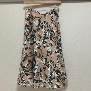 アウラアイラ(AULA AILA)のアウラアイラ 花柄スカート(ロングスカート)