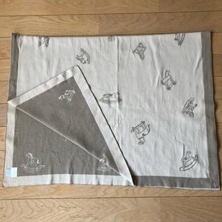エルメス(Hermes)のHERMES baby blanket ベージュ(毛布)