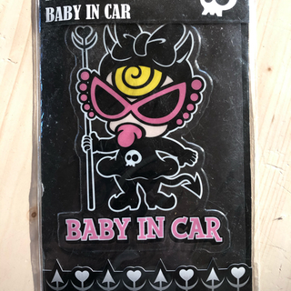 ヒステリックミニ(HYSTERIC MINI)のヒステリックミニのカーステッカー Baby(車外アクセサリ)