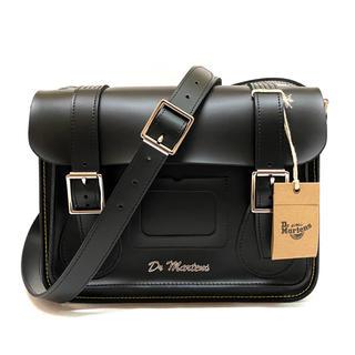 ドクターマーチン(Dr.Martens)の【新品】マーチン サッチェル ショルダーバッグ 鞄 11インチ レザー 正規品(ショルダーバッグ)