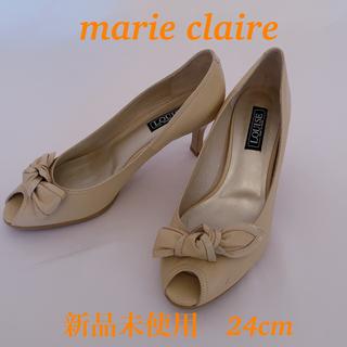マリクレール(Marie Claire)の【新品未使用】marie claire ヒール 24cm(ハイヒール/パンプス)