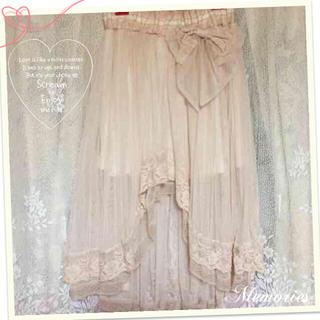 リズリサ(LIZ LISA)のLIZ LISA テールカットスカート(ひざ丈スカート)