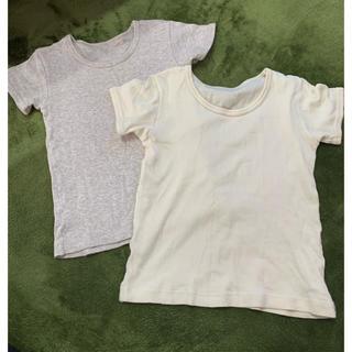 シマムラ(しまむら)の100  綿100 インナーシャツ(Tシャツ/カットソー)