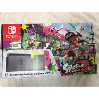 ニンテンドースイッチ(Nintendo Switch)の任天堂スイッチ本体 じゃむ様専用(携帯用ゲーム機本体)