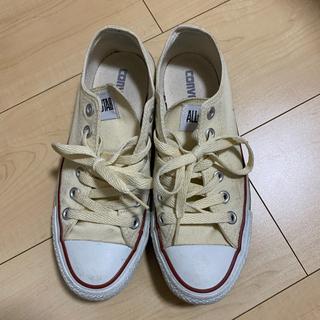 コンバース(CONVERSE)の【converse】オールスター オフホワイト 生成り(スニーカー)