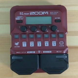 ズーム(Zoom)のZOOM B1four(ベースエフェクター)