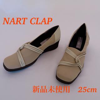 【新品未使用】NART CLAP パンプス 25cm(ハイヒール/パンプス)